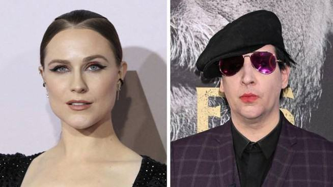Evan Rachel Wood has denounced Marilyn Manson